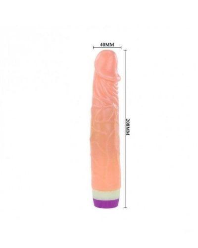 Realistic 7 Inch Vibrator Dildo – Flesh Color